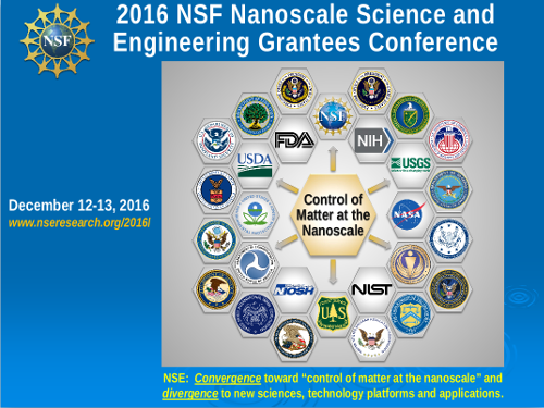 2016 NSF Nanoscale Science and Engineering Grantees