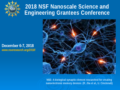 2018 NSF Nanoscale Science and Engineering Grantees